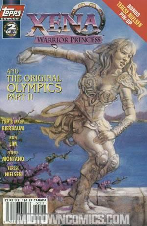 Xena Warrior Princess and The Original Olympics #2 Regular Cvr