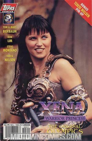 Xena Warrior Princess and The Original Olympics #3 Photo Cvr