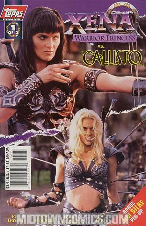 Xena Warrior Princess vs Callisto #1 Photo Cvr w/ Pin-up