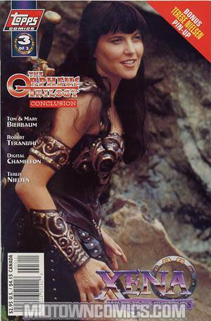 Xena Warrior Princess The Orpheus Trilogy (TV) #3 Photo Cvr
