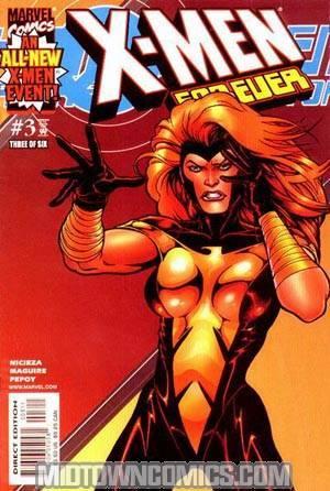 X-Men Forever (2001 Mini-Series) #3