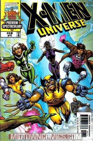 X-Men Universe Past Present and Future #1