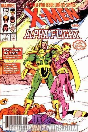 X-Men Alpha Flight Vol 1 #2