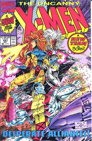 Uncanny X-Men #281 Cover B 2nd Ptg