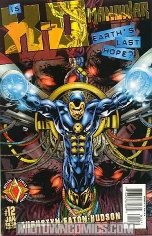X-O Manowar Vol 2 #12