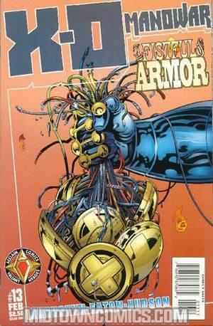 X-O Manowar Vol 2 #13
