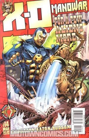 X-O Manowar Vol 2 #14