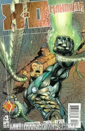 X-O Manowar Vol 2 #3