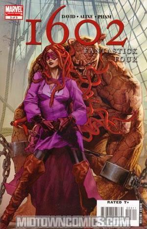 Marvel 1602 Fantastick Four #3