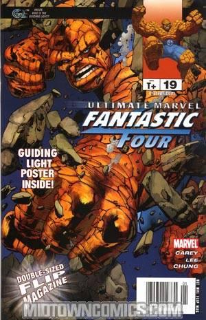 Ultimate Marvel Flip Magazine #19