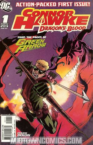 Connor Hawke Dragons Blood #1