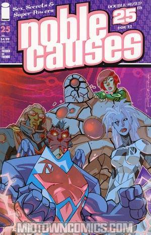 Noble Causes Vol 2 #25 Reg Cover (Ongoing Series)