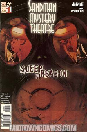 Sandman Mystery Theatre Sleep Of Reason #1