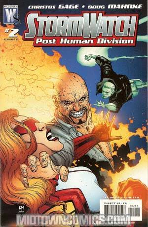 Stormwatch PHD #2 Cover A Regular