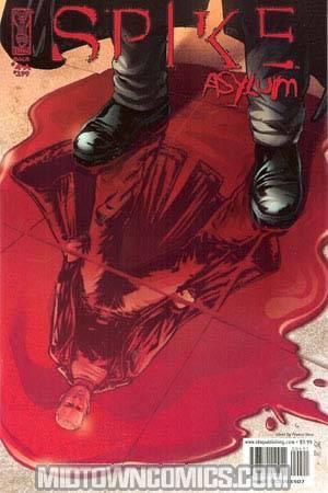 Spike Asylum #4 Regular Urru Cover