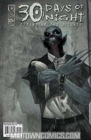 30 Days Of Night Spreading The Disease #1 Cover A Regular Alex Sanchez Cover