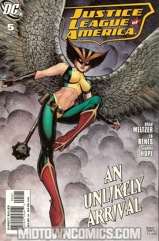Justice League Of America Vol 2 #5 Incentive Arthur Adams Variant Cover