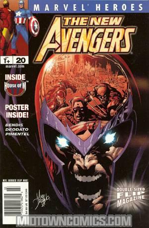 Marvel Heroes Flip Magazine #20