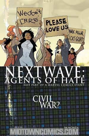 Nextwave Agents Of HATE #11