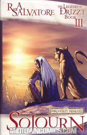 Forgotten Realms The Legend Of Drizzt Book 3 Sojourn HC