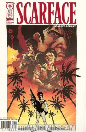 Scarface Scarred For Life #1 Cover A Regular Dave Crosland Cover