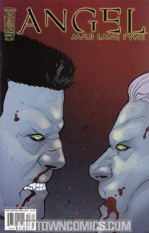 Angel Auld Lang Syne #3 Cover A Regular David Messina Cover