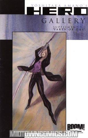 Yoshitaka Amano Hero Gallery Ltd Ed Variant Cover