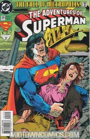 Adventures Of Superman #514