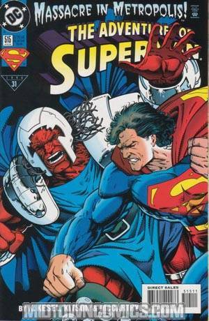 Adventures Of Superman #515
