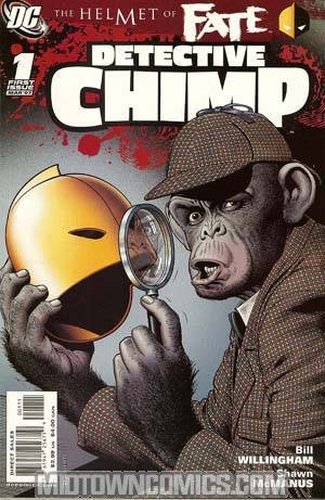 Helmet Of Fate Detective Chimp #1