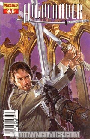 Highlander #3 Regular Dave Dorman Cover