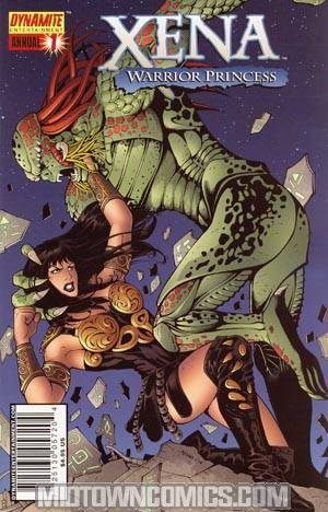Xena Annual #1 Strange Visitor One Shot Regular Noah Salonga Cover