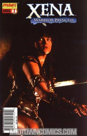Xena Annual #1 Strange Visitor One Shot Regular Photo Cover