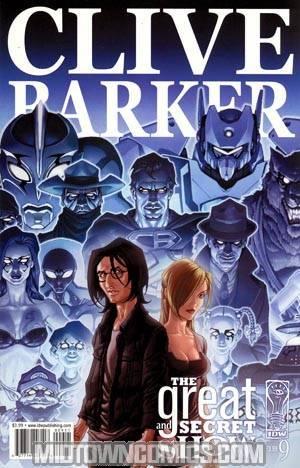 Clive Barkers Great And Secret Show #9 Regular Gabriel Rodriguez Cover