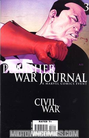 Punisher War Journal Vol 2 #3 (Civil War Tie-In)