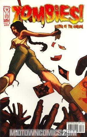 Zombies Eclipse Of The Undead #3 Regular Yair Herrera Cover