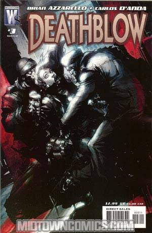 Deathblow Vol 2 #3 Cover A Regular Carlos Danda Cover
