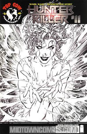Hunter Killer #11 Incentive Marc Silvestri Black & White Cvr