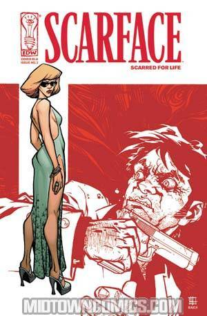 Scarface Scarred For Life #2 Cover C Incentive Zach Howard Cover
