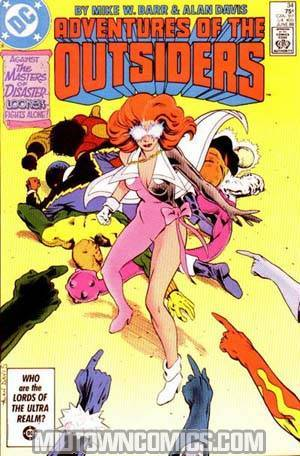 Adventures Of The Outsiders #34