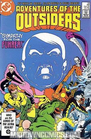 Adventures Of The Outsiders #35