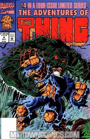 Adventures Of The Thing #4