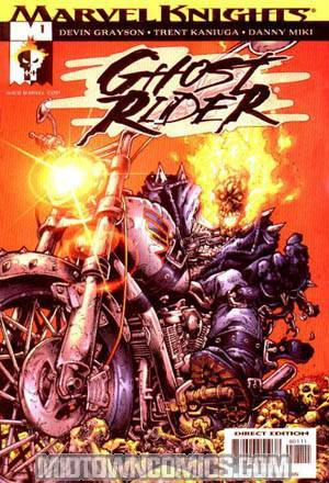 Ghost Rider Vol 3 Hammer Lane #1