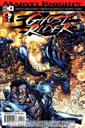 Ghost Rider Vol 3 Hammer Lane #4