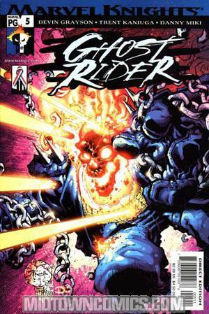 Ghost Rider Vol 3 Hammer Lane #5