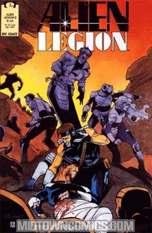 Alien Legion Vol 2 #2