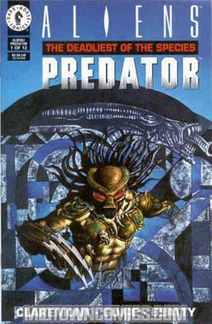 Aliens Predator The Deadliest Of Species #1 Cover A Regular Cover