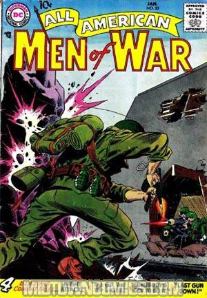All-American Men Of War #53