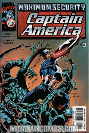 Captain America Vol 3 #36