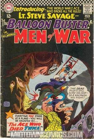 All-American Men Of War #114